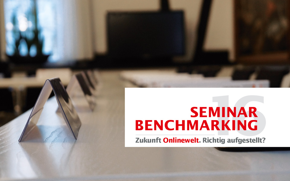 Seminar Benchmarking 2016